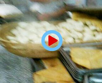 菏泽单县中学多麦包子机用户生产包子视频